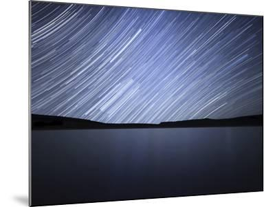 Star Trails of the Celestial Equator in Somuncura, Argentina-Stocktrek Images-Mounted Photographic Print