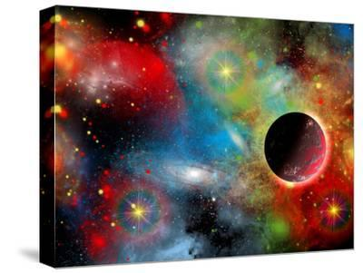Artist's Concept Illustrating Our Beautiful Cosmic Universe-Stocktrek Images-Stretched Canvas Print
