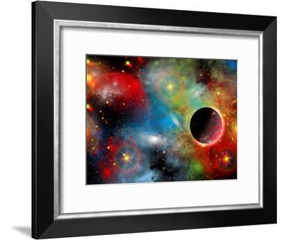 Artist's Concept Illustrating Our Beautiful Cosmic Universe-Stocktrek Images-Framed Photographic Print