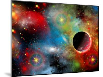 Artist's Concept Illustrating Our Beautiful Cosmic Universe-Stocktrek Images-Mounted Photographic Print