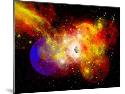 A Dying Star Turns Nova as it Blows Itself Apart-Stocktrek Images-Mounted Photographic Print