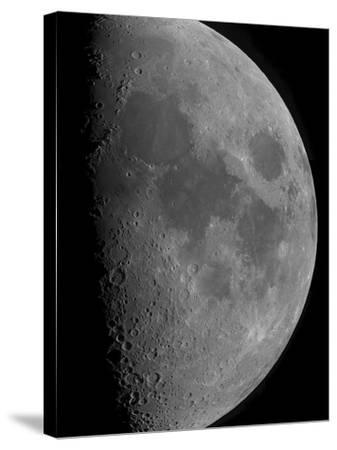 Half-Moon-Stocktrek Images-Stretched Canvas Print