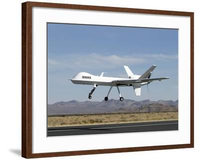 The Ikhana Unmanned Aircraft-Stocktrek Images-Framed Photographic Print