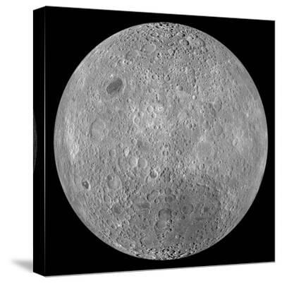 The Far Side of the Moon-Stocktrek Images-Stretched Canvas Print