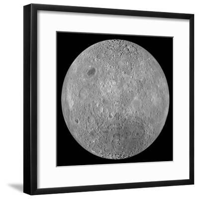 The Far Side of the Moon-Stocktrek Images-Framed Photographic Print