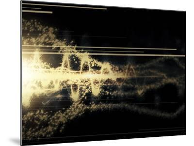 Burst of Energy Forms into Powerful Beam of Light-Stocktrek Images-Mounted Photographic Print
