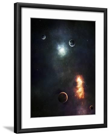 Two Armageddon's Happening at the Same Time-Stocktrek Images-Framed Photographic Print
