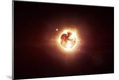 A Dying Star Which Will Soon Give New Beginning to a Black Hole-Stocktrek Images-Mounted Photographic Print