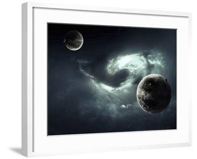 A Nearby Nebula Forming Deadly Vortex-Stocktrek Images-Framed Photographic Print