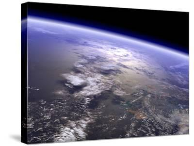 Artist's Concept of a Terrestrial Planet-Stocktrek Images-Stretched Canvas Print