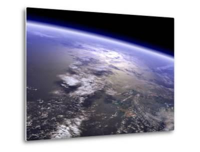 Artist's Concept of a Terrestrial Planet-Stocktrek Images-Metal Print
