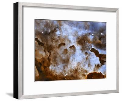 Carina Nebula Star-Forming Pillars-Stocktrek Images-Framed Photographic Print
