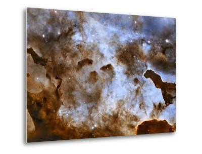 Carina Nebula Star-Forming Pillars-Stocktrek Images-Metal Print
