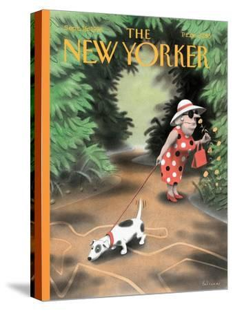 The New Yorker Cover - September 16, 1996-Ian Falconer-Stretched Canvas Print