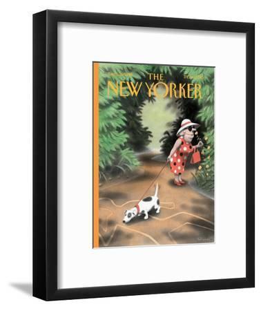 The New Yorker Cover - September 16, 1996-Ian Falconer-Framed Premium Giclee Print