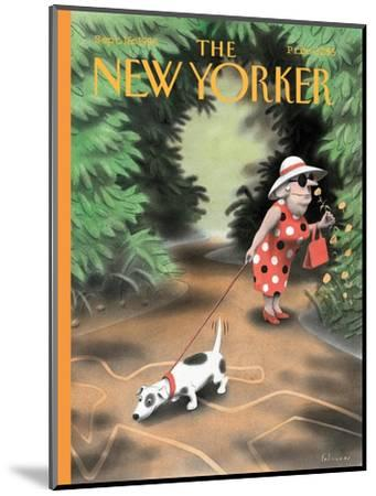 The New Yorker Cover - September 16, 1996-Ian Falconer-Mounted Premium Giclee Print