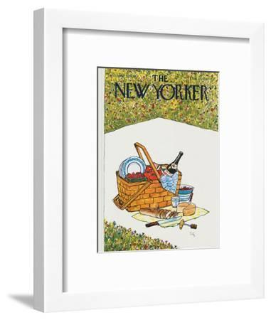 The New Yorker Cover - June 5, 1978-Arthur Getz-Framed Premium Giclee Print