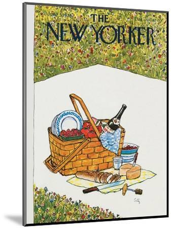 The New Yorker Cover - June 5, 1978-Arthur Getz-Mounted Premium Giclee Print