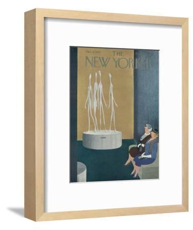 The New Yorker Cover - January 15, 1955-Charles E. Martin-Framed Premium Giclee Print