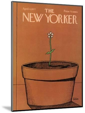 The New Yorker Cover - April 4, 1977-Robert Tallon-Mounted Premium Giclee Print
