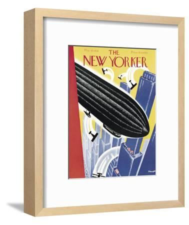 The New Yorker Cover - May 10, 1930-Theodore G. Haupt-Framed Premium Giclee Print