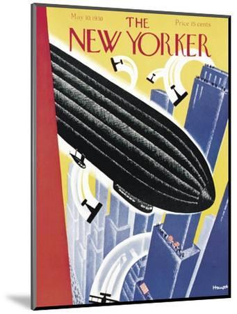 The New Yorker Cover - May 10, 1930-Theodore G. Haupt-Mounted Premium Giclee Print