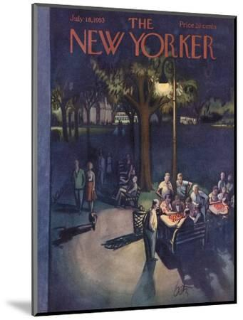 The New Yorker Cover - July 18, 1953-Arthur Getz-Mounted Premium Giclee Print