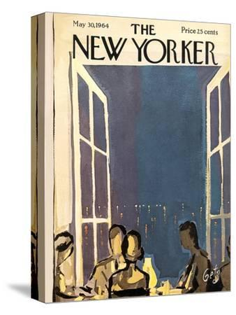 The New Yorker Cover - May 30, 1964-Arthur Getz-Stretched Canvas Print