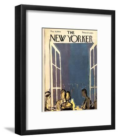 The New Yorker Cover - May 30, 1964-Arthur Getz-Framed Premium Giclee Print