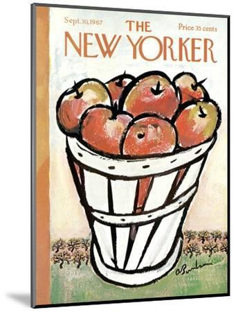 The New Yorker Cover - September 30, 1967-Abe Birnbaum-Mounted Premium Giclee Print