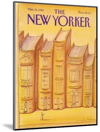 The New Yorker Cover - March 15, 1982-Eug?ne Mihaesco-Mounted Premium Giclee Print
