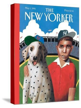 The New Yorker Cover - May 1, 1995-Mark Ulriksen-Stretched Canvas Print