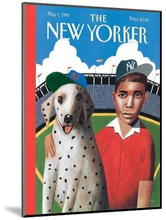 The New Yorker Cover - May 1, 1995-Mark Ulriksen-Mounted Premium Giclee Print