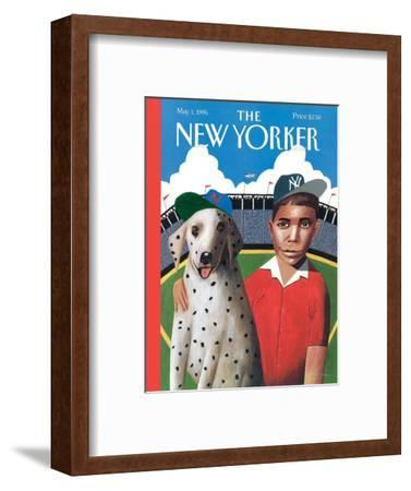 The New Yorker Cover - May 1, 1995-Mark Ulriksen-Framed Premium Giclee Print