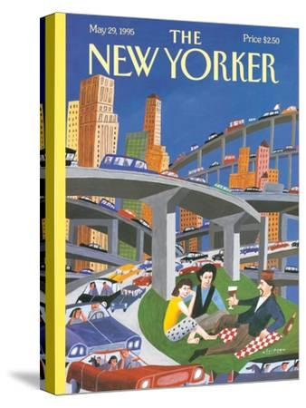 The New Yorker Cover - May 29, 1995-Mark Ulriksen-Stretched Canvas Print