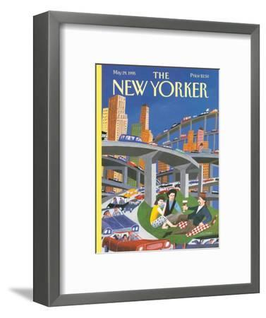 The New Yorker Cover - May 29, 1995-Mark Ulriksen-Framed Premium Giclee Print