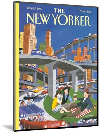 The New Yorker Cover - May 29, 1995-Mark Ulriksen-Mounted Premium Giclee Print