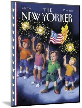 The New Yorker Cover - July 7, 1997-R. Sikoryak-Mounted Premium Giclee Print