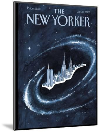The New Yorker Cover - January 10, 2000-Mark Ulriksen-Mounted Premium Giclee Print