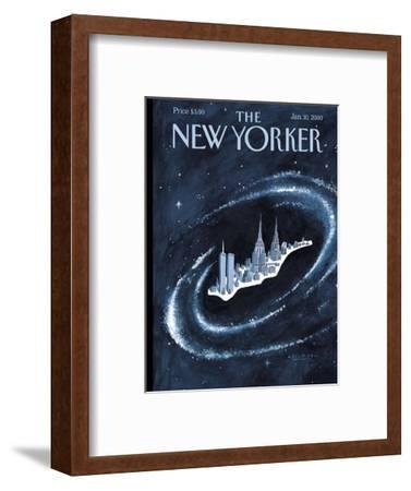 The New Yorker Cover - January 10, 2000-Mark Ulriksen-Framed Premium Giclee Print