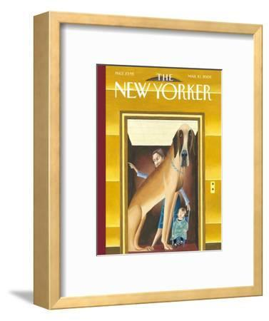 The New Yorker Cover - March 10, 2003-Mark Ulriksen-Framed Premium Giclee Print