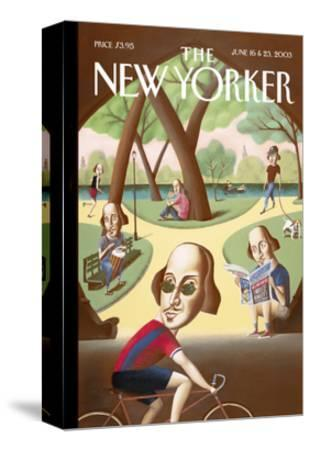 The New Yorker Cover - June 16, 2003-Mark Ulriksen-Stretched Canvas Print