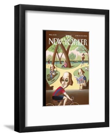 The New Yorker Cover - June 16, 2003-Mark Ulriksen-Framed Premium Giclee Print