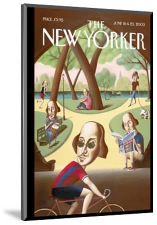 The New Yorker Cover - June 16, 2003-Mark Ulriksen-Mounted Premium Giclee Print
