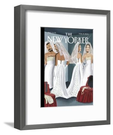 The New Yorker Cover - March 15, 2004-Mark Ulriksen-Framed Premium Giclee Print