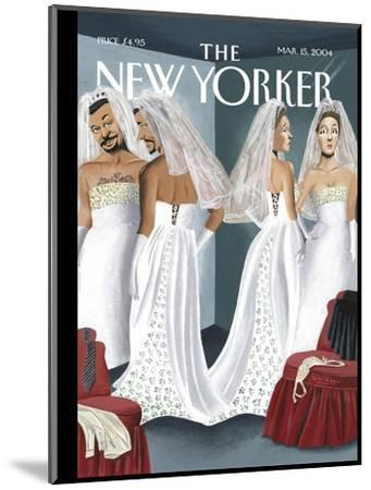 The New Yorker Cover - March 15, 2004-Mark Ulriksen-Mounted Premium Giclee Print