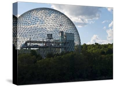 The Expo 1967 Geodesic Dome, Now Called the Biosphere Is in Canada-Stacy Gold-Stretched Canvas Print