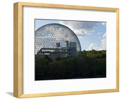 The Expo 1967 Geodesic Dome, Now Called the Biosphere Is in Canada-Stacy Gold-Framed Photographic Print