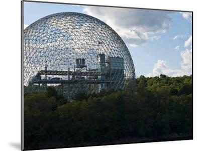 The Expo 1967 Geodesic Dome, Now Called the Biosphere Is in Canada-Stacy Gold-Mounted Photographic Print
