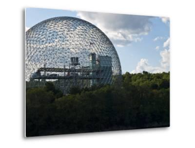 The Expo 1967 Geodesic Dome, Now Called the Biosphere Is in Canada-Stacy Gold-Metal Print